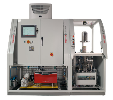 Vacuum solution for the helium leak testing of sealed cans