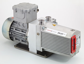 Rotary vane pump Duo 11 ATEX from Pfeiffer Vacuum with explosion-proof DC motor