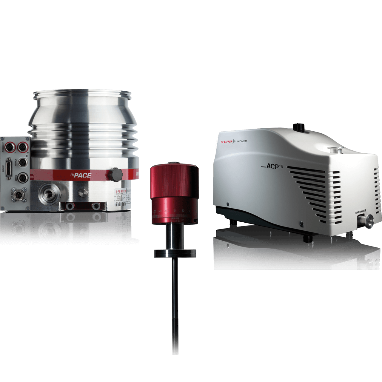Vorpumpen, Turbopumpen und weitere Anwendungen im Hochvakuum