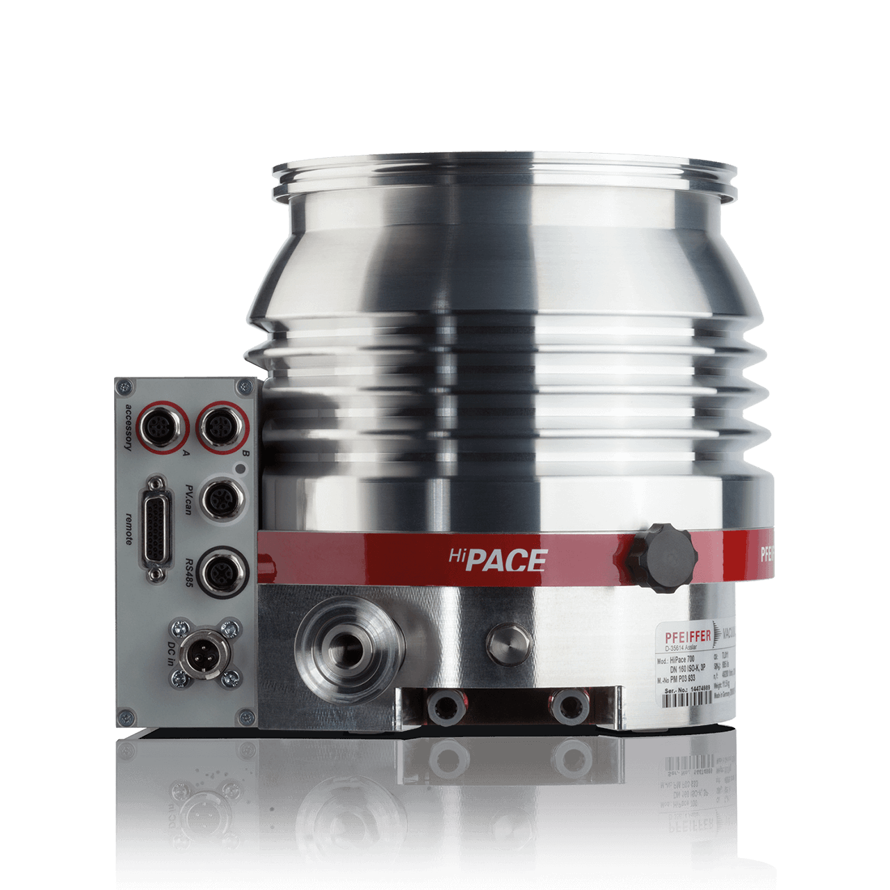 Hybrid Bearing Turbopumps - Pfeiffer Vacuum
