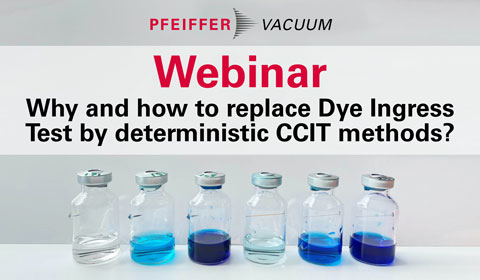 On-Demand Webinar Why and how to replace Dye Ingress Test by deterministic CCIT methods?
