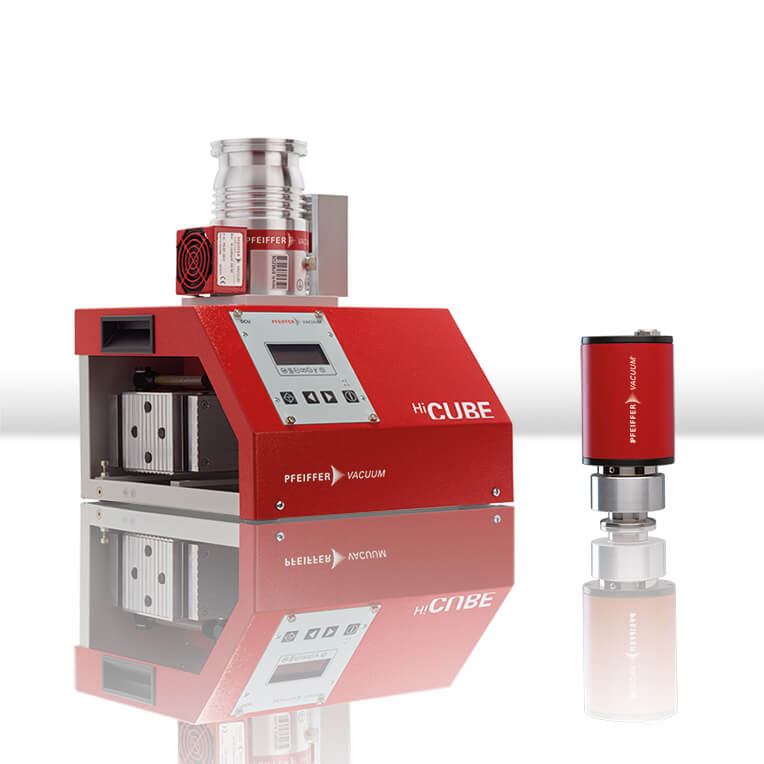 Turbo pumping station HiCube Eco + gauges - sales promotion