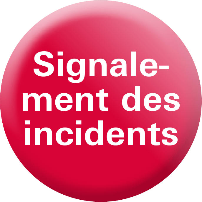 Signalement des incidents