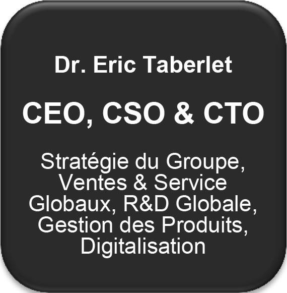 Pfeiffer Vacuum CEO, CSO & CTO