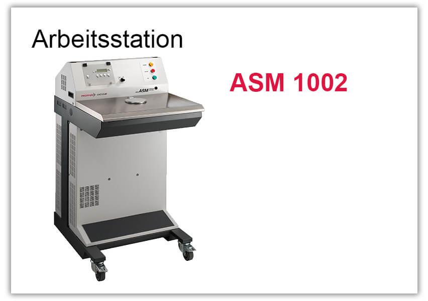 Arbeitsstation Lecksucher ASM 1002