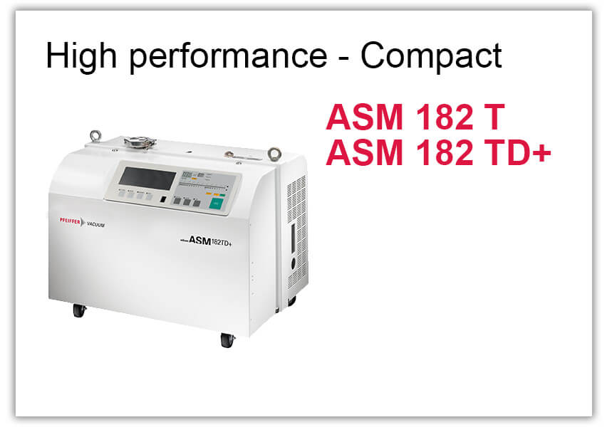 High performance Leak Detector ASM 182