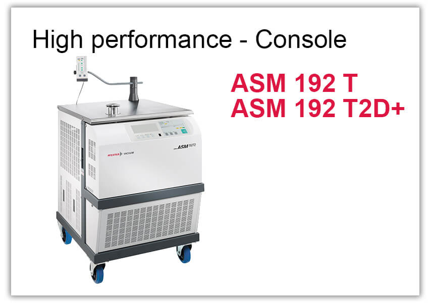 High performance Leak Detector ASM 192