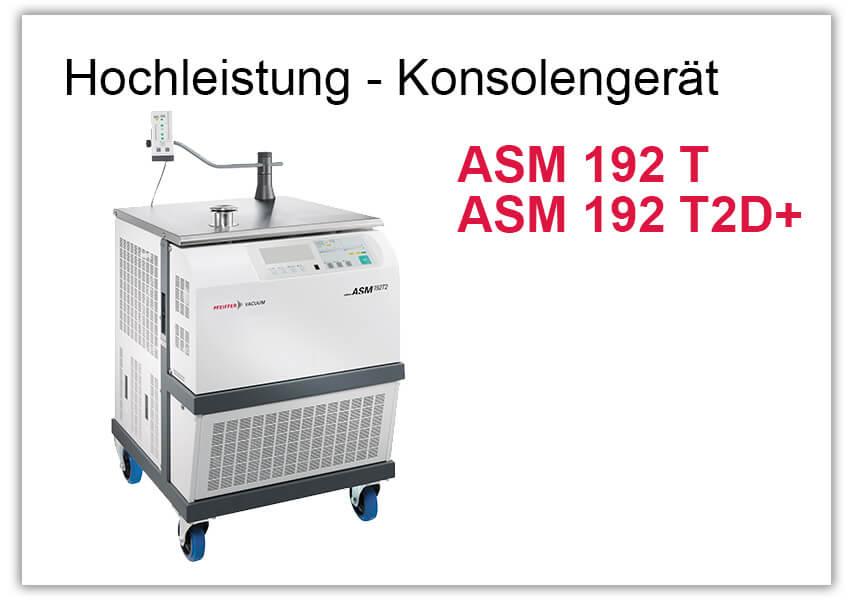 Hochleistung - Konsolengerät ASM 192