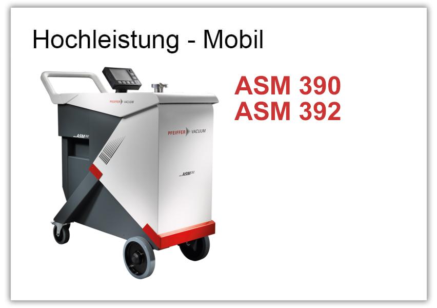 Hochleistungslecksucher ASM 390 und 392
