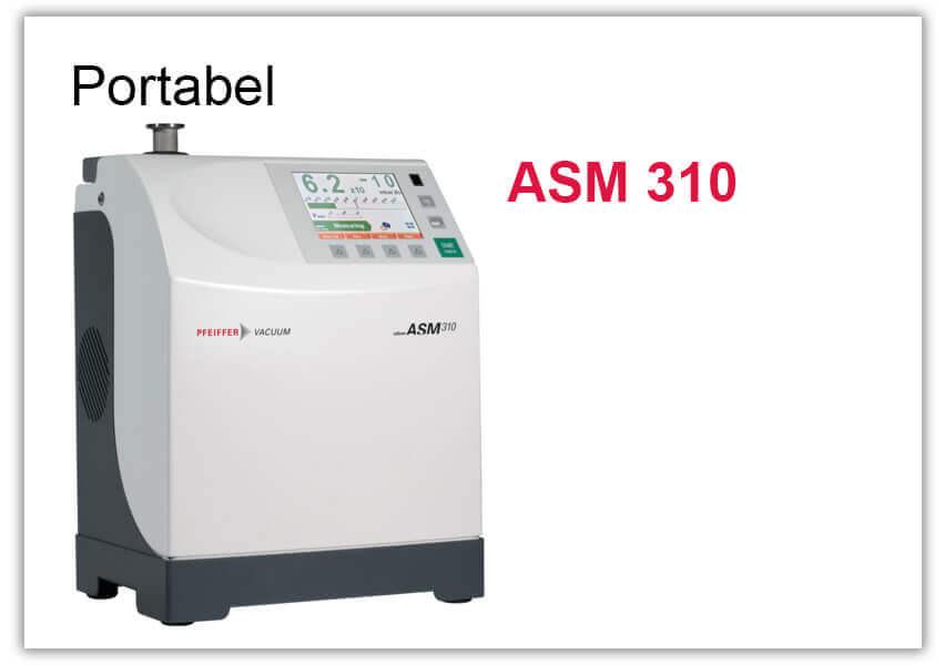 Tragbarer Lecksucher ASM 310