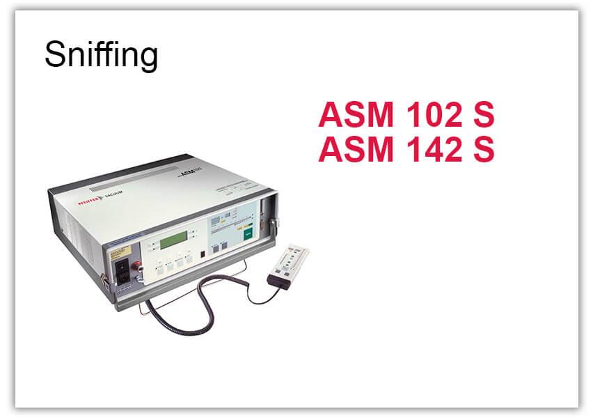 Sniffing Leak Detector ASM 102 S