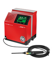 Helium and hydrogen sniffer leak detector ASM 306 S