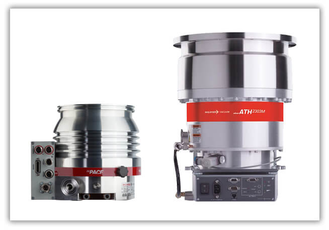 Turbopumps for perfect vacuum solutions to meet the highest requirements