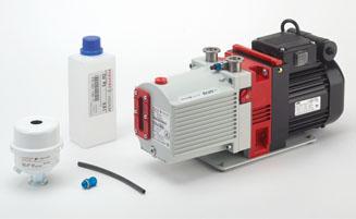 必须定期检查和更换旋片泵的油。