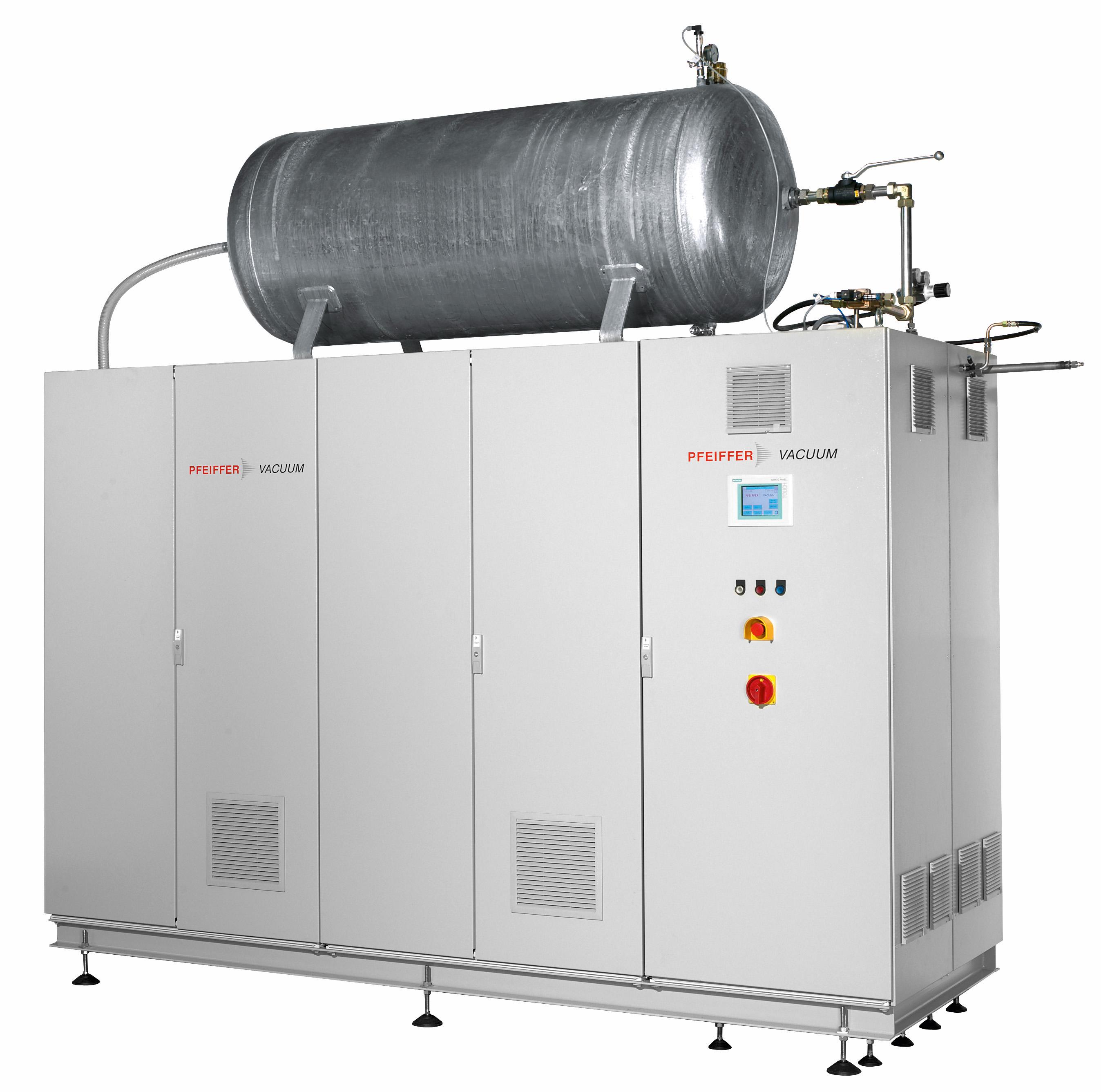 헬륨 회수 시스템의 예