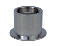 ISO-KF Flange with Pipe Thread, w/o Seal, Female
