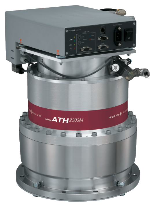 ATH 2303 M, DN 250 ISO-F, with integrated drive electronics OBC V4, Profibus, water-cooled, non-heated