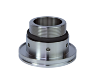 ISO-K Flange with Pipe Thread and FPM Seal, Male