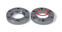 CF Weld Flange, Rotatable, with Thread
