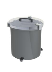 TrinosLine Medium Vacuum Chamber, Vertical, KVG, DN 250