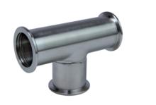 Tee, Stainless Steel 304/1.4301, DN 40 ISO-KF