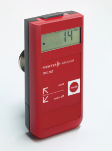 TPG 202, Piezo/Pirani handheld measurement unit