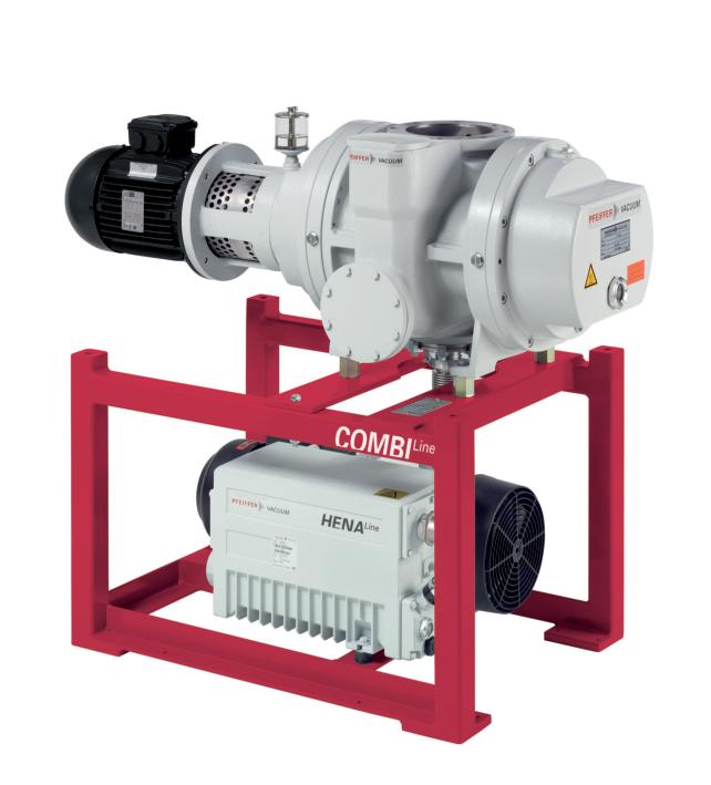 CombiLine WU 942,配 Hena 300 两级叶片泵和 Okta 1000 罗茨泵